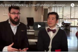 CoSydney CoWorking CrowdFunding Campaign