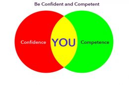Be confident and competent