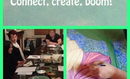 Connect, create, boom