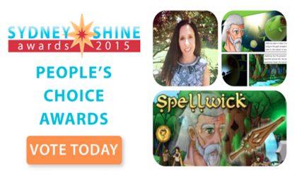 THe Sydney SHINE Awards Finalist 1- Danielle Gerber- Spellwick