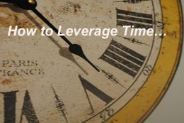 How to leverage time?