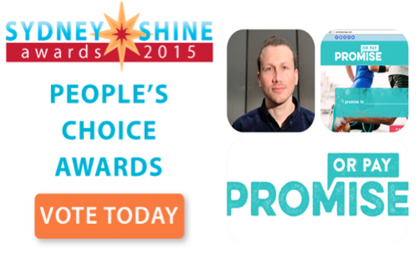 "THe Sydney SHINE Awards Finalist 2- Jay Boolkin ""Promise Or Pay"""