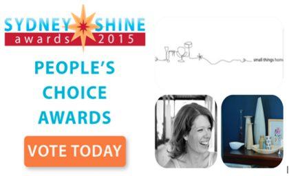 "THe Sydney SHINE Awards Finalist 3 – Jo Vandeleur ""Small Things Home"""