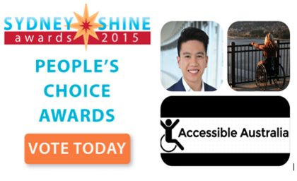"The Sydney SHINE Awards Finalist 4 – Patrick Nguyen- ""Accessible Australia"""