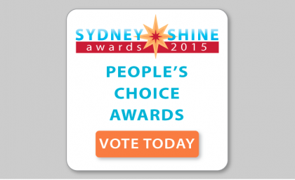 Five Finalists Revealed for The Sydney SHINE Awards 2015