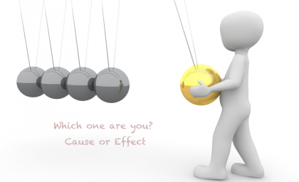 Which one are you? Cause or Effect