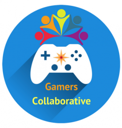 Gamers Collaborative white backing